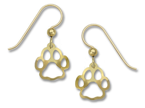 Gold plated Paw Print