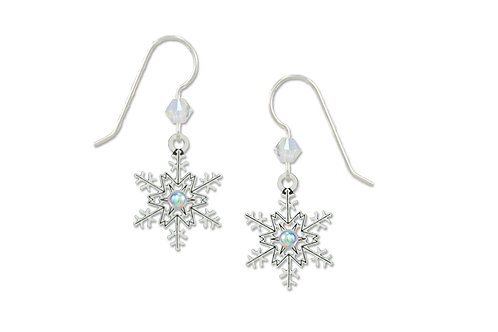 Snowflake with Crystal