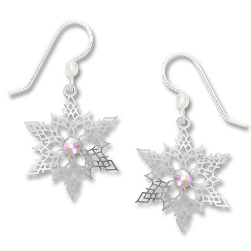 IR snowflake with crystal rhinestone