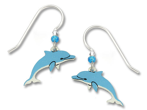 Two-Tone Dolphin in Dark & Light Blue