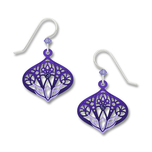 Tanzanite &purple moorish filigree