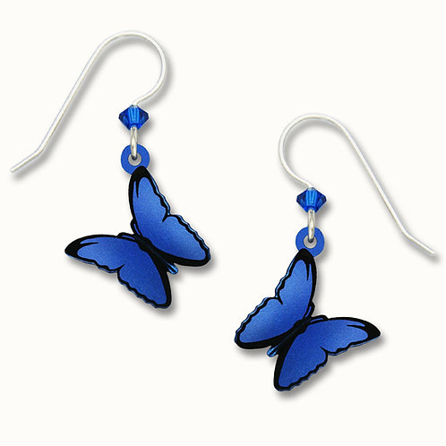 3-D Blue Morpho Butterfly