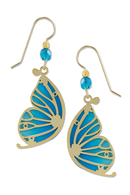 Blue Butterfly Wing with GP Overlay