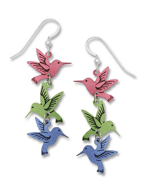 3 Hummingbirds Earrings