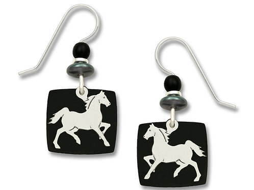 IR Horse on Black Backer