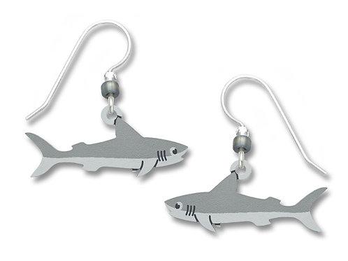 Whimsical Grey Shark