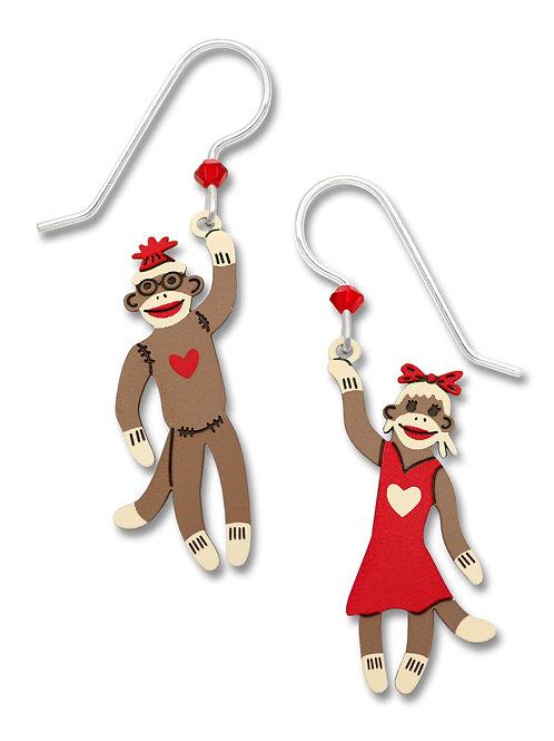 Boy & Girl Sock Monkeys
