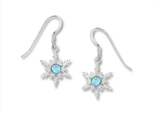 Filigree Snowflake earring