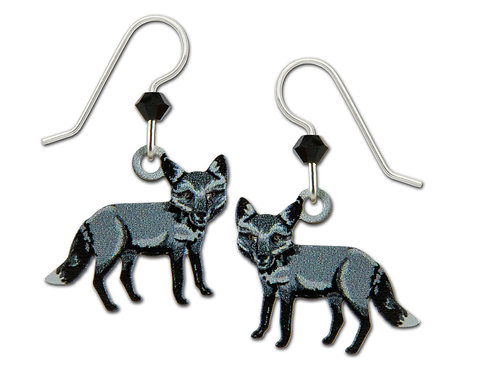 Black and Grey Fox