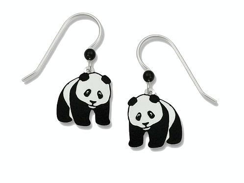 Panda bear dangle hand-painted