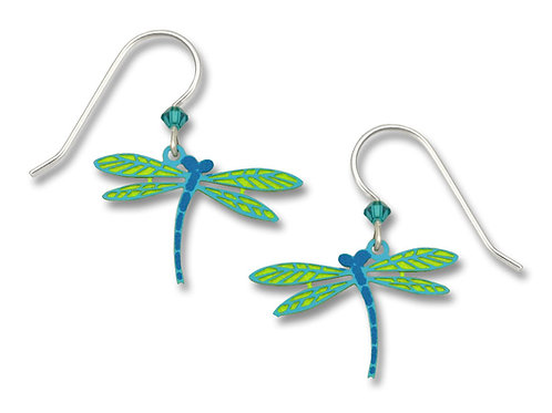 Dragonfly lt green and blue