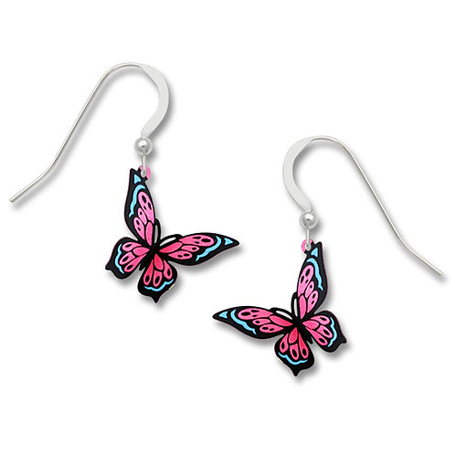 Pink & Blue Fantasy Butterfly