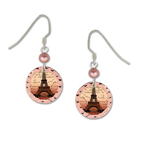 Copper Eiffel tower