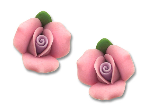 Pastel pink roses post
