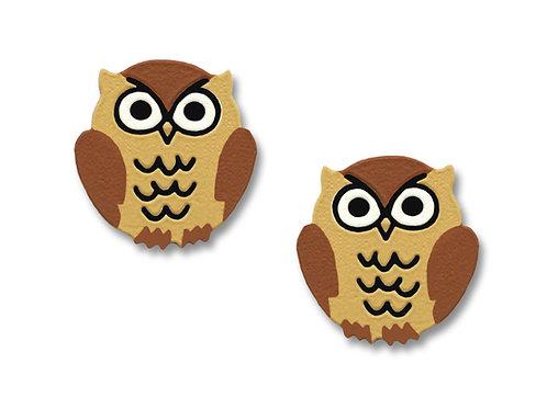Med Brown Owl - Post