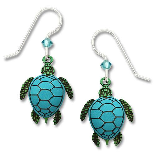 Sea Turtle - Green w/Blue Shell