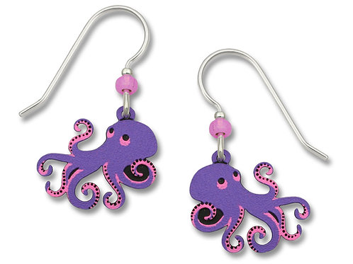 Octopus in Pink and Purple