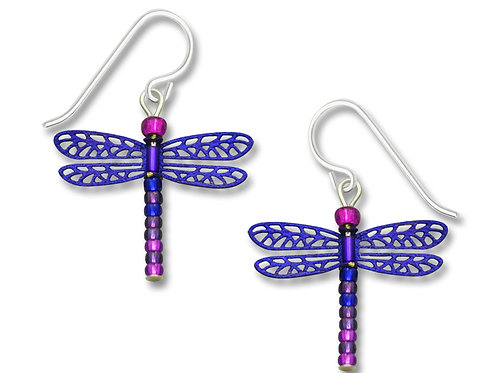 Blue Violet beaded-tail dragonfly