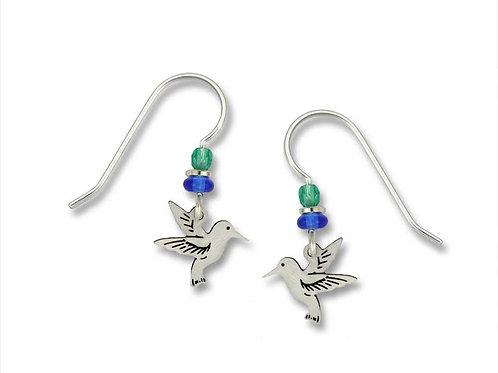 Mini hummingbird earrings