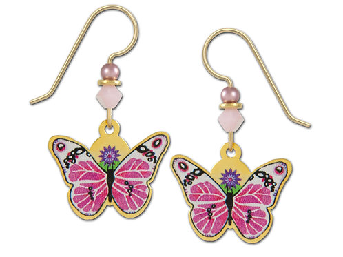 Pink and White Butterfly