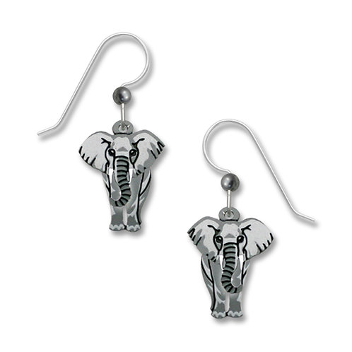 Elephant w/Tusks, Front View
