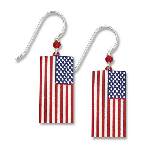 Flag,  hand-painted Stars 'n Stripes