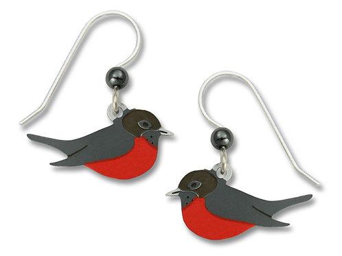 American Robin Earrings