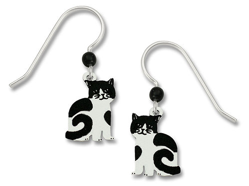 """Lily"" Black & White Cat"