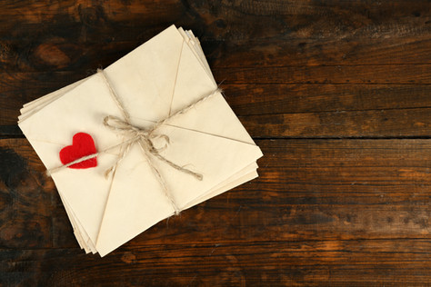Hold the phone – love letters are the key to your dates heart