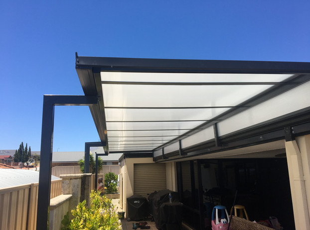 Raised flat roof patio perth
