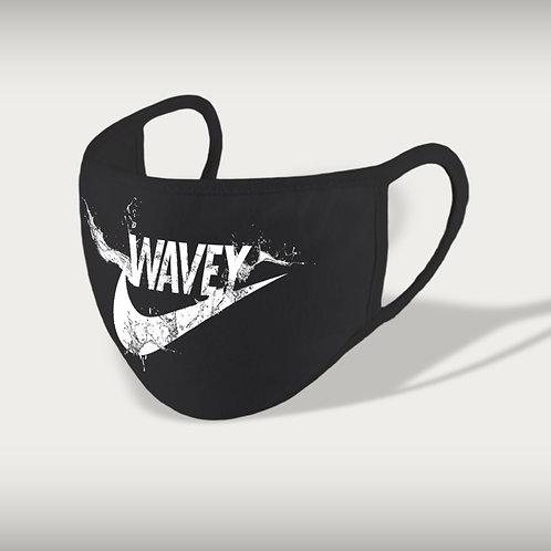 Wavey Face Mask