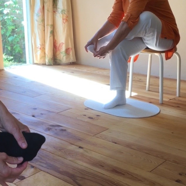 Ook onze voeten ademen! Een voetbehandeling is vaak onderdeel van een ademles.