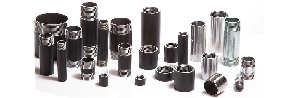 CNC Normteile Muffen Nippel Doppelnippel