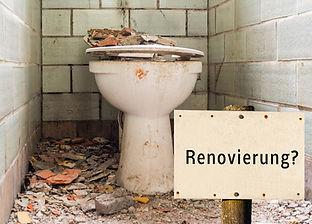 Sanierung WC Anlage