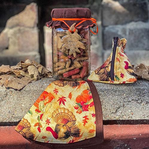 Gobble Gobble Mason Jar Set
