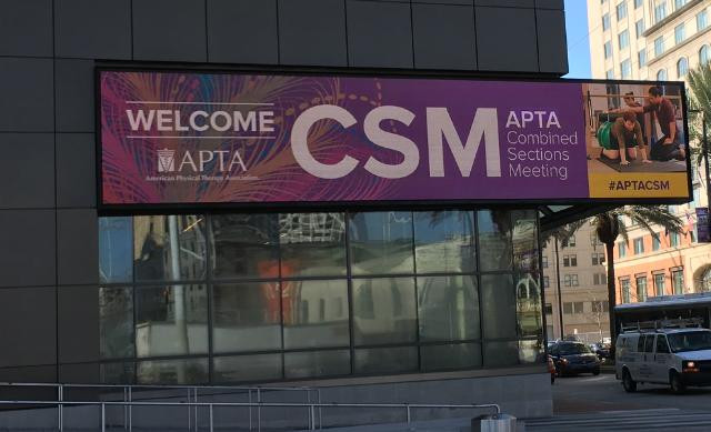 Five Reasons Students and Recent Graduates Should Consider Attending APTA's CSM 2019