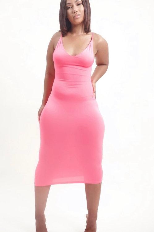 Pink S.I.M Dress