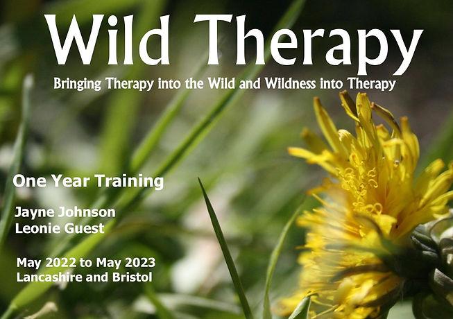 Wild Therapy 1 year flyer 2022 Dandelion.jpg