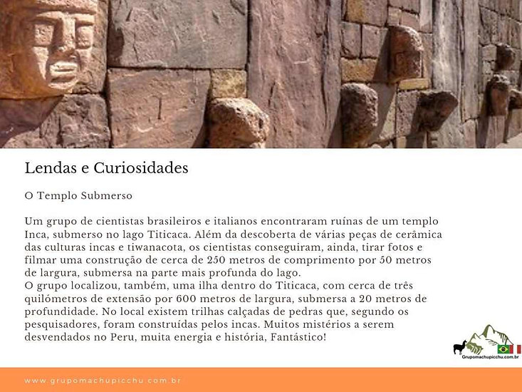 lendas lago titicaca