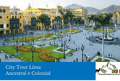 CITY TOUR LIMA - Grupomachupicchu.com.br