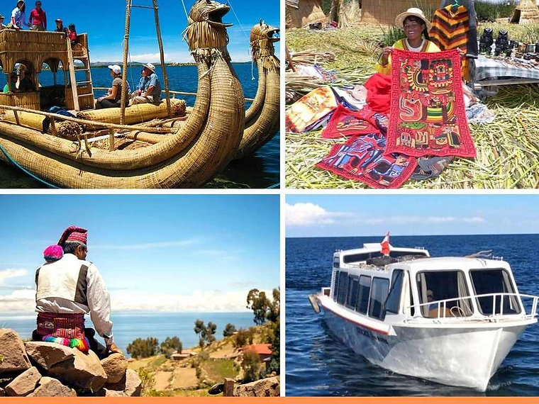 lancha rapida veloz lago titicaca