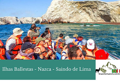 Paracas e nazca saindo de Lima