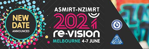 ASMIRT-NZIMRT re-Vision 2021 banner - 60