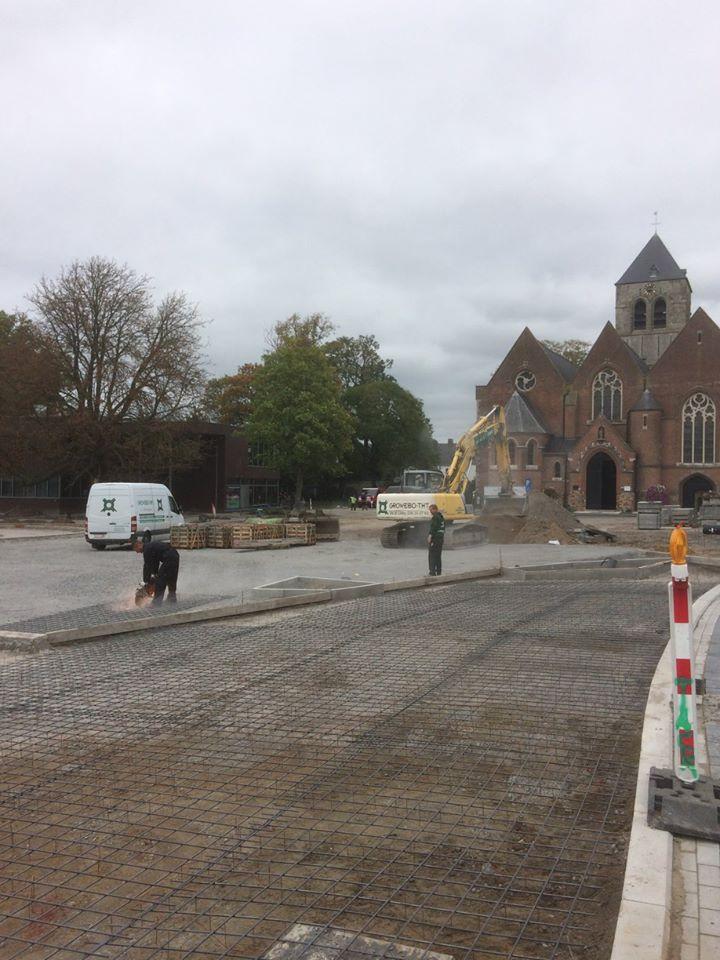Moorsele – Réaménagement du centre