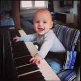 Victor 6 måneder gammel - januar 2016