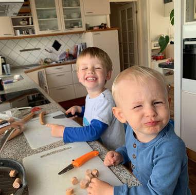 Køkkenhjælpere