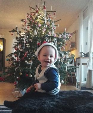 Juleaften hos Morfar & Marisen - 2016