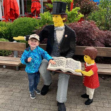 Victor i Legoland