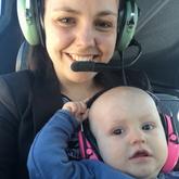 Flyvetur med Far - april 2018