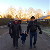 Olle, Victor og Rasmus i Gundsømagle - J